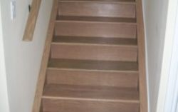 Torlys Florence Designer Cork with matching stairs and railings