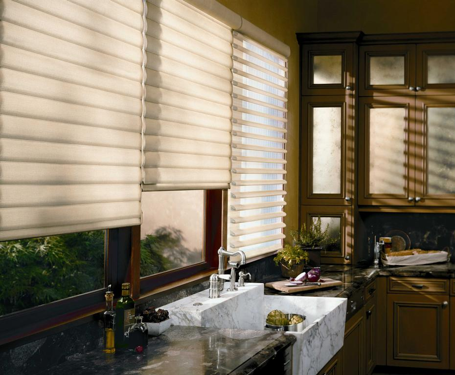 window blinds carousel douglass abalone douglas trugrain treatments in everwood hunter faux wood alternative metal